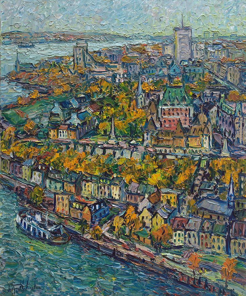 Québec 30x36