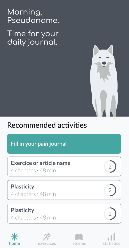 pain app showcase