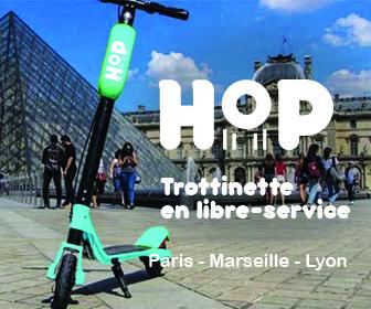 campagne display Hop Trottinette