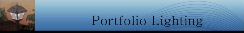 portfolio light fixtures