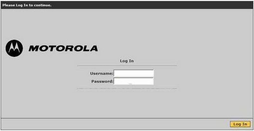 Motorola MT123 Router Port Forwarding Instructions