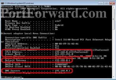 Ipconfig All In Windows 8