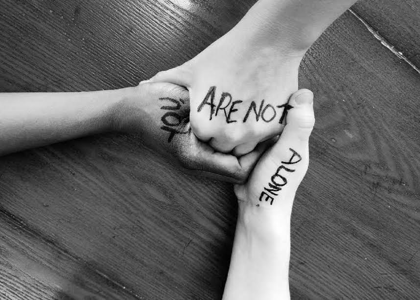 You Are Not Alone — Living Between the Lines