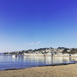 View of St Mawes, Cornwall.