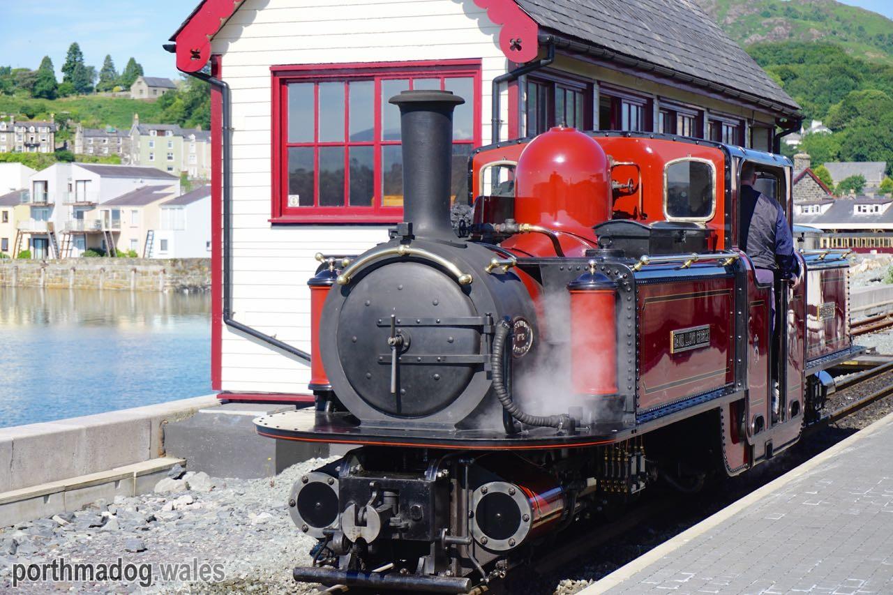 The Ffestiniog Railway, Porthmadog