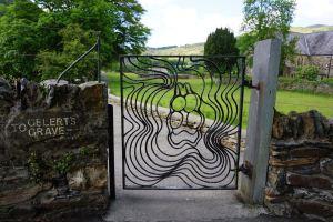 Path to Gelert's Grave at Beddgelert