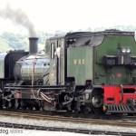 Welsh Highland Railway (NG/G16 No.143 Loco) in Porthmadog