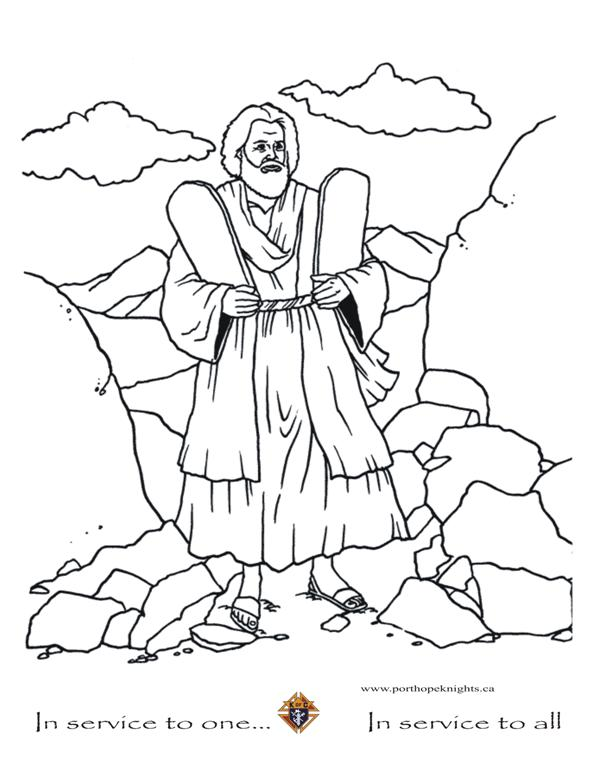 Moses and the Ten Commandments Movie Pictures, Clipart