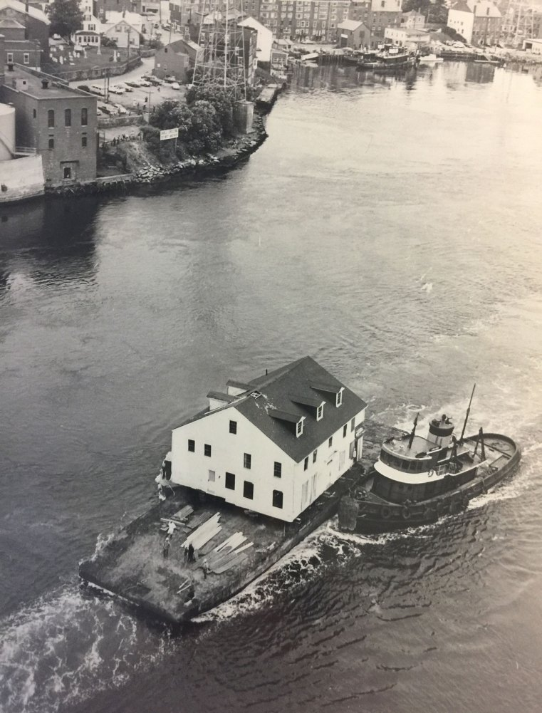 Built in 1770, the Joshua Wentworth house was moved from the city's North End to a lot next to Stoodly's Tavern on Hancock Street. The house became one of the original 35 buildings that became Strawbery Banke. The house was moved in 1973, partially by water down the Piscataqua River on to a landing at Prescott Park in the South End.