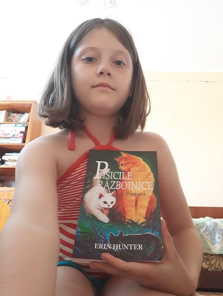Pisicile războinice #4 - Furtuna - Erin Hunter - Amira