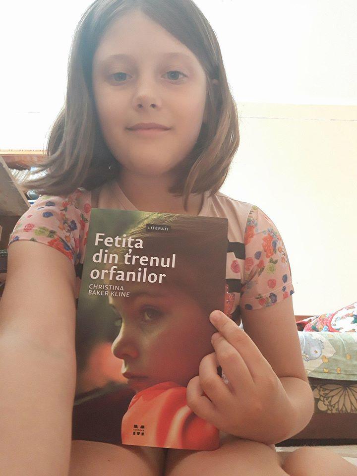 Fetița din trenul orfanilor - Christina Baker Kline - Amira