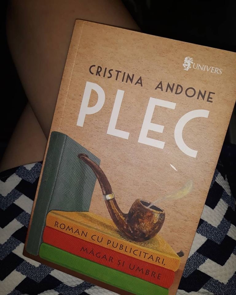 Plec de Cristina Andone - Roman cu publicitari, măgar și umbre