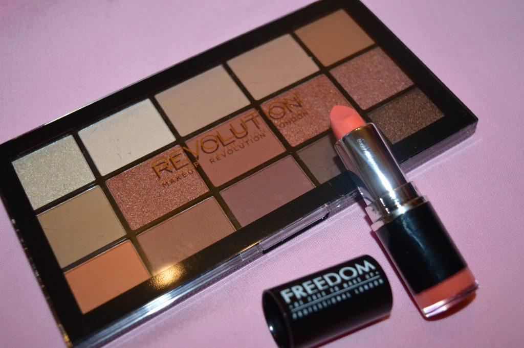 Paleta Makeup Revolution și creioanele Melkior