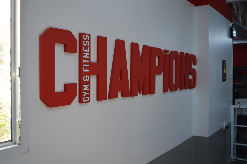 În weekend, sărbătorim 3 ani de Champions Gym & Fitness