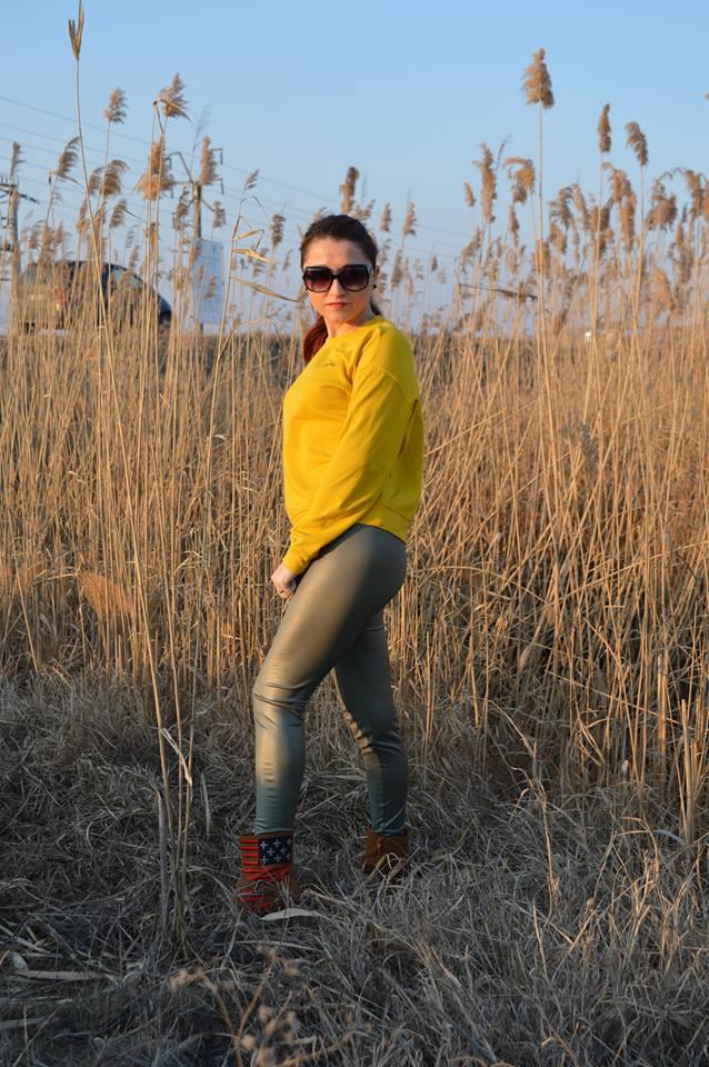 leggings Femme Luxe
