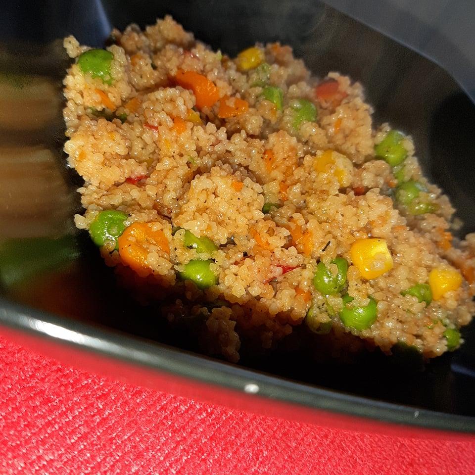 Rețetă cușcuș cu legume mexicane