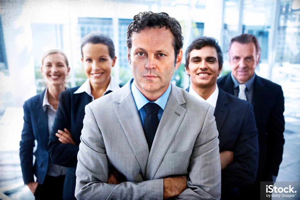 Stock photos just got some star power. . .cue Vince Vaughn