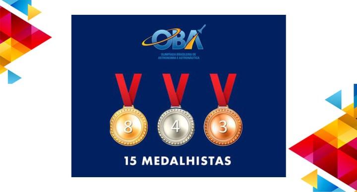 Portinari tem 15 medalhistas na OBA