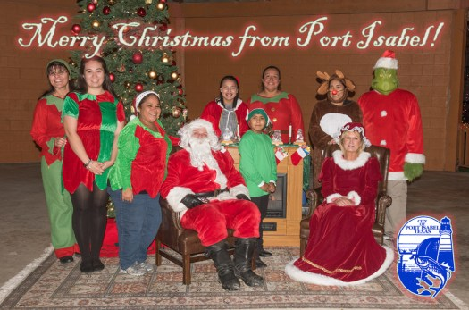 Merry Christmas from the City of Port Isabel, Texas!