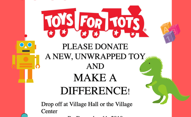 Toys For Tots Port Jefferson Village