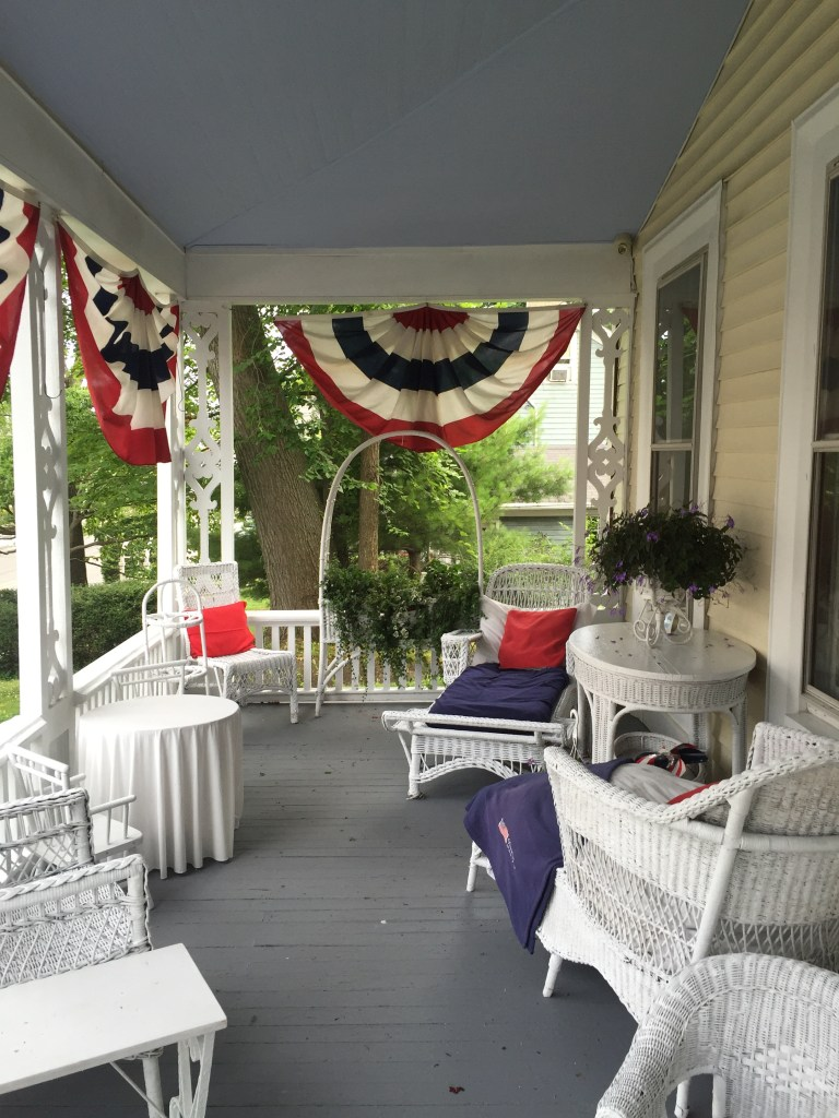 Nan's full porch