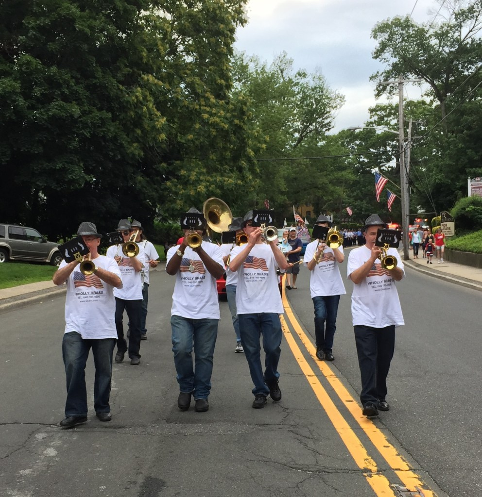 Wholly Brass Band Marching