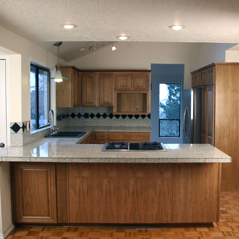 Custom Cabinet Refacing  Cabinet Cures of Portland OR