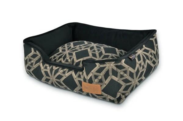 Solstice Lounge Bed Black