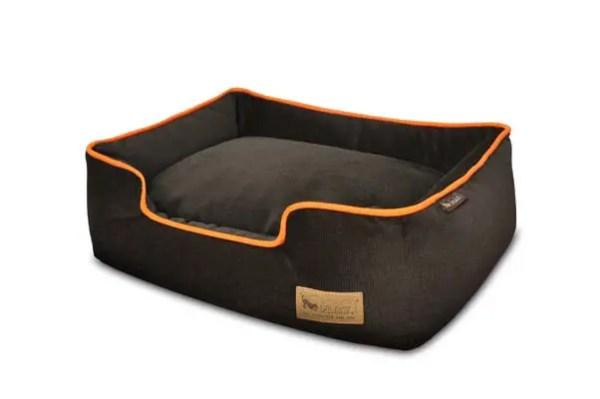 Urban Plush Lounge Bed Brown/Orange