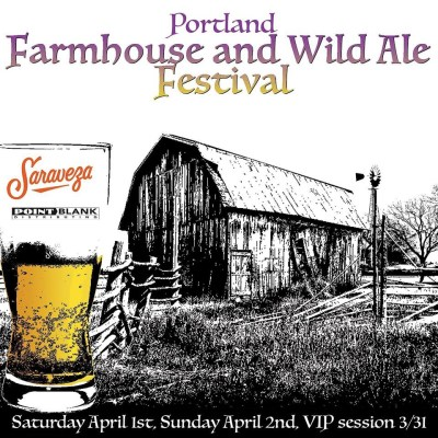 Ezra Johnson-Greenough and Sarah Pederson Portland Farmhouse and Wild Ale Festival - Portland Beer Podcast Episode 34