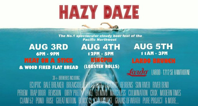 Hazy Daze 2018 Preview with Nick Schuurman Lardo PDX, and Eric Russ Pono Brewing - Portland Beer Podcast episode 78