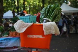 Biketown Bike at Shemanski Park Farmers Market