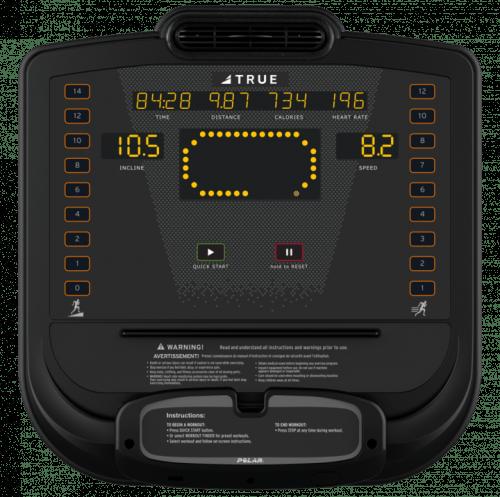 True C650 Treadmill Console