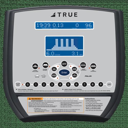 True CS200 Upright Bike Console