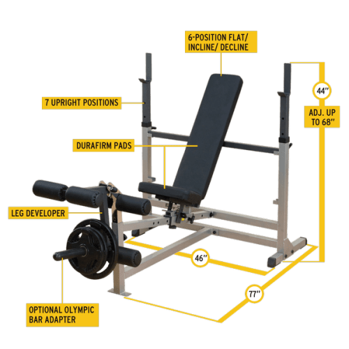 Body-Solid GDIB46L PowerCenter Combo Bench