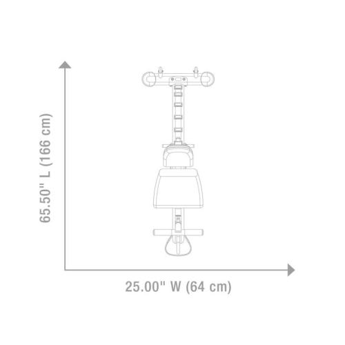 Hoist 7 Position Flat:Incline:Decline Bench HF-5165
