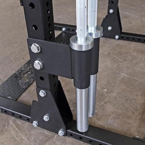 Body-Solid SPR Dual Vertical Bar Holder