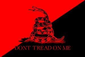 Anarcho-syndicalist flag