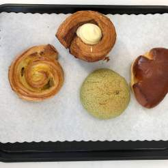 Pastries at Oyatsupan Bakery Beaverton