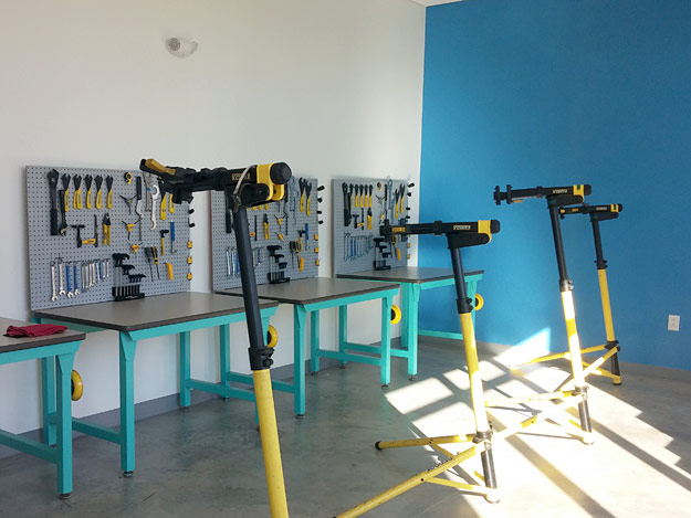 bike school workstations