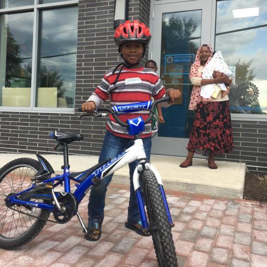 Youth Earn-A-Bike