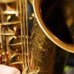 David Layton - sax closeup