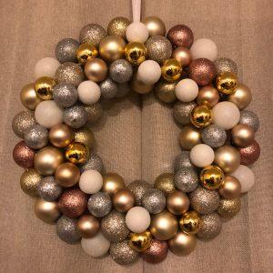 ornament wreath step 4
