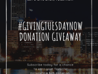 #GivingTuesdayNow Donation Giveaway