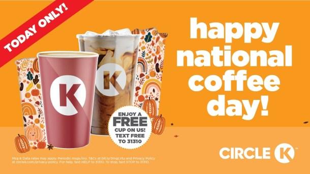 national coffee day circle k