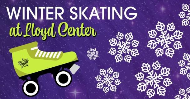 winter roller skating lloyd center
