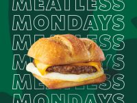 starbucks meatless mondays