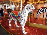 oaks park free carousel train