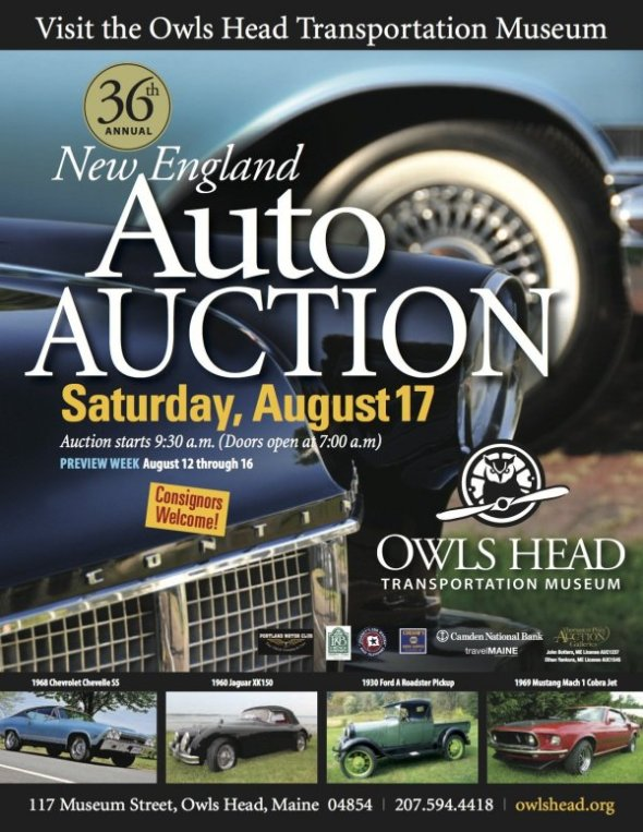 New England Auto Auction At Owls Head Transportation Museum