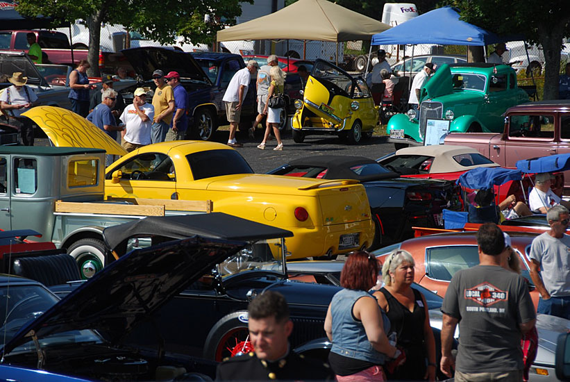 Our biggest show in 7 years at Portland Motor Club